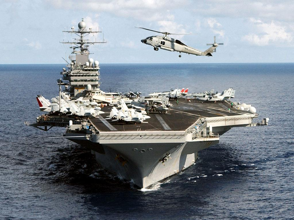 The Biggest Aircraft Carriers Naval Technology Brazilian Navy Carrier Sao Paulo A Foreground Ping Us Uss Ronald Reagan Cvn