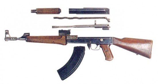 ak47 2 550x292 How the AK 47 Evolved over Time