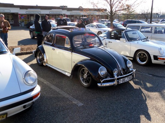 every time we have gone to the show a few hot rodded beetles have shown up these are wacky little cars 550x412 A Weekend Super Cars Party