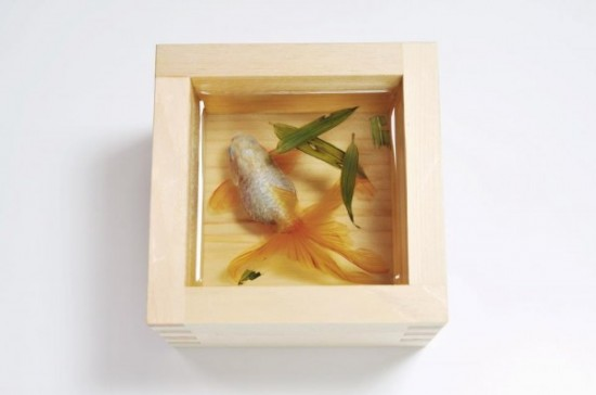 goldfish 3 600x398 550x364 Unbelievable 3D Art!
