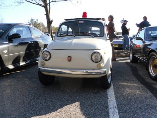 nothing is too big or too small for cars and croissants as this fiat cinquecento proves 550x412 A Weekend Super Cars Party