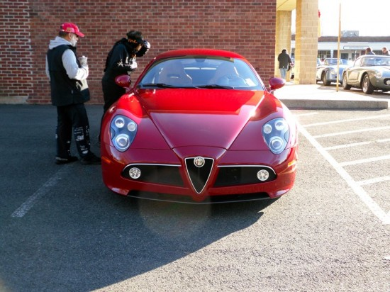right behind the countach was alfa romeos triumphant return to the us market the 8c competizione 550x412 A Weekend Super Cars Party