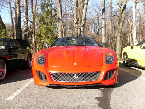 the owner of the scuderia 16m also has this tasty 599 gto 550x412 A Weekend Super Cars Party