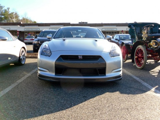 this gt r was right next to the cadillac the car certainly has come a long way 550x412 A Weekend Super Cars Party