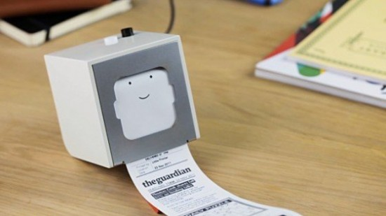 00006511 550x309 Little Printer For Your Mobile Phone