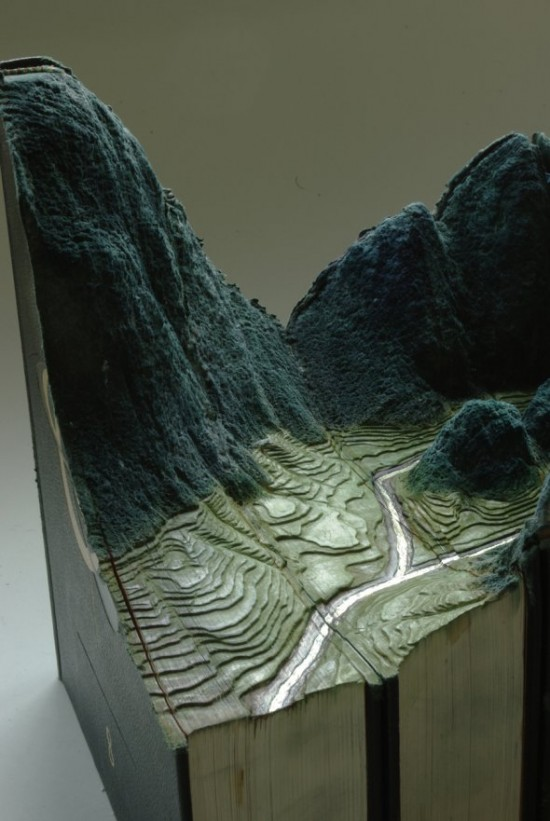 00009849 550x821 Fascinating Book Sculptures