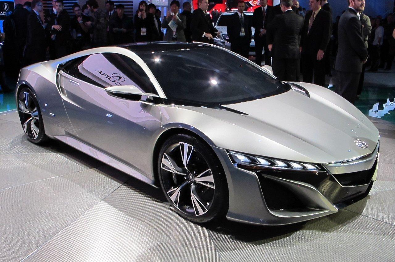 2012 Detroit: Acura NSX Concept is Hybrid-Powered, Honda Supercar ...