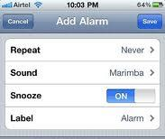 Daylight savings time alarm bug in iPhone and its fix