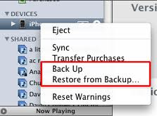 How to restore your iPhone from backup