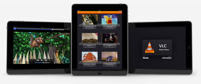 Playing any video format on iPad with VLC