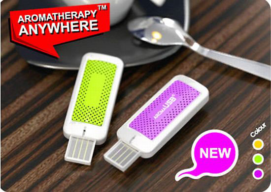 USB Aroma Therapy Top 10 Strange Office Gadgets