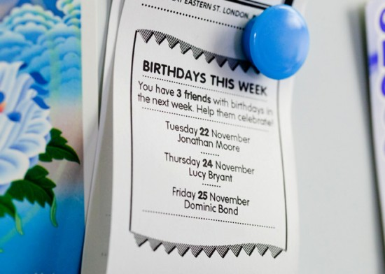 birthdays 550x392 Little Printer For Your Mobile Phone