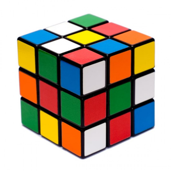 rubiks cube 13763 550x550 A Rubiks Cube Amazingly Solved!