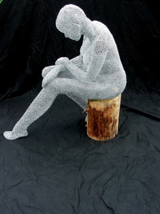 00015422 550x733 Some Wire Sculptures