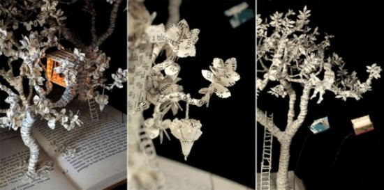 00018277 550x273 Book Sculptures Telling You The Book Story