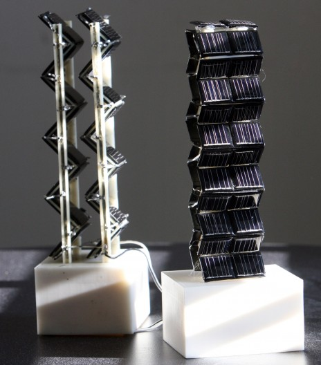 3d solar tower 11 3D Solar Panels More Efficient Than Predecessors