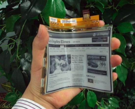 6a00d8341bf67c53ef0168e9709cb7970c 800wi 550x446 LG Reveals A Bendable E Reader