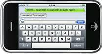 Access iPhone text messages backup files
