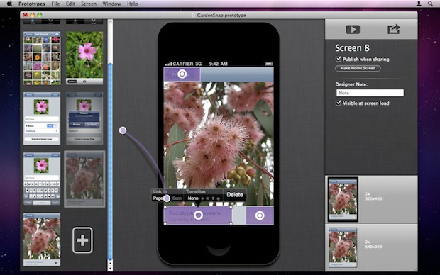 Creating functional Prototypes for iPhone & iOS Apps