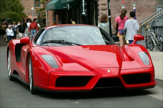 Ferrari Enzo 550x366 Top 10 Super Cars of 2012