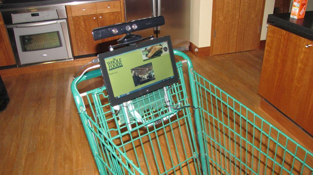 Kinect-Shopping-Cart