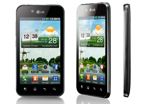 LG Optimus Black Top 10 Touchscreen Phones for 2012
