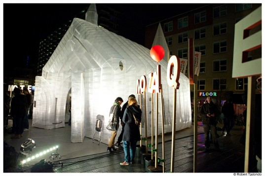 Transparent Pop Up Church 1 537x357 10 Unusual Churches of World