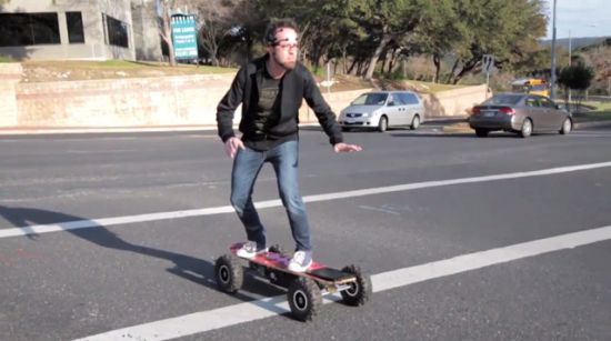 chaoticmoonboard thumb 550xauto 86397 Mind Controlled Skating Looks Awesome