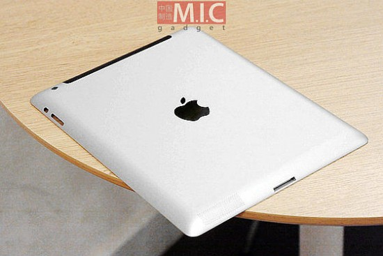 ipad 3 built leaked parts 2 550x367 iPad 3     Coming to your desks!