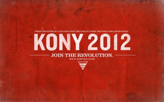 kony 2012 550x343 KONY 2012   Invisible Children Wallpaper & Documentry