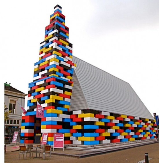 lego church 550x562 10 Unusual Churches of World