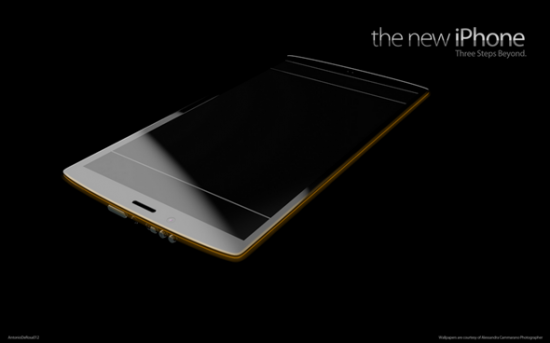 new iPhone 2 550x343 The New iPhone 5 Concept