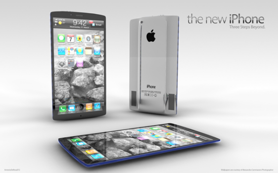 new iPhone 5 550x342 The New iPhone 5 Concept