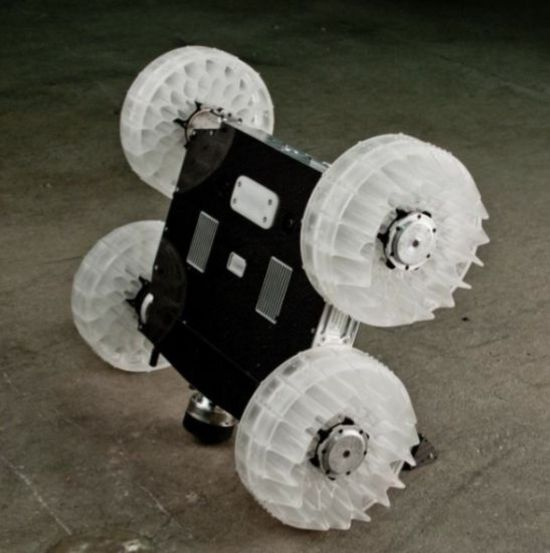 Jumping Robot Optimized For Crossing Walls