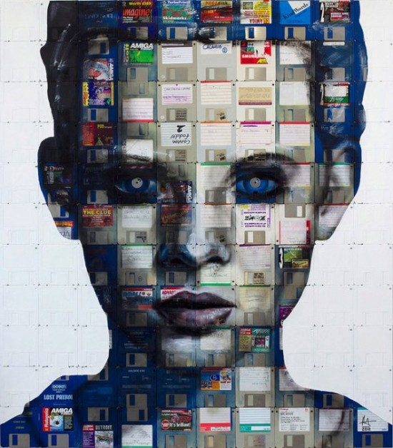 00021720 550x628 Amazing Floppy Disk Art