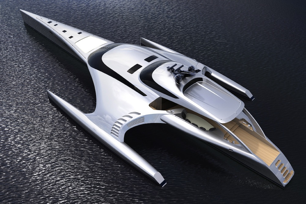 iPad Controlled Super Yacht