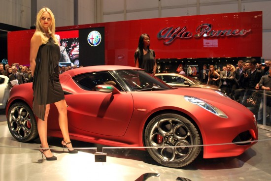 Alfa Romeo 4C 550x368 Top 10 Concept Cars
