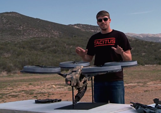 FPS russia quadrotor with machine gun thumb 550xauto 89564 FPS Quad copter Reality Or Fake, You Decide!