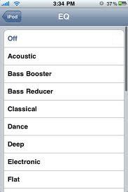 How to access iPhone equalizer How to access iPhone equalizer