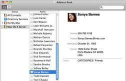 How to backup Mac OS X address book How to backup Mac OS X address book