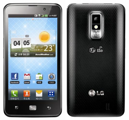 LG Optimus LTE Top 10 Android Phones