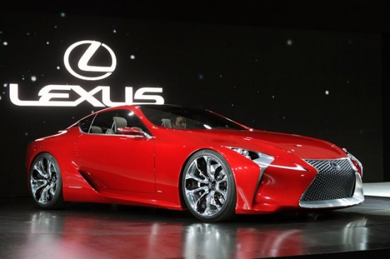 Lexus LF LC 550x365 Top 10 Concept Cars