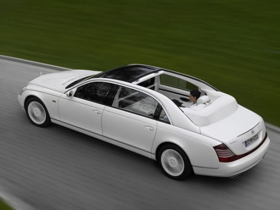 Maybach Landaulet 550x412 Top 10 Luxurious Cars