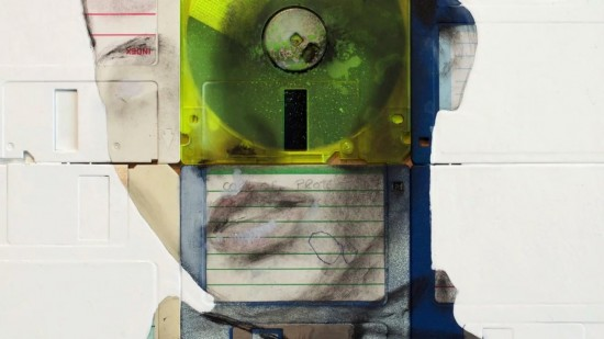 Nick Gentry Floppy Disk Art 8 550x309 Amazing Floppy Disk Art