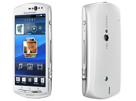 Sony Ericsson Xperia Neo V 550x407 Top 10 Android Phones