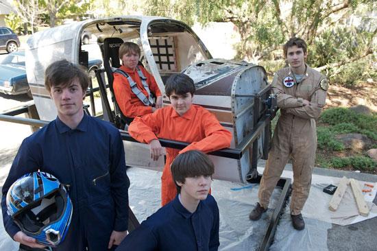 BattleStar Galactica Simulator Built By A Group Of Teenagers