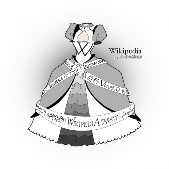 Victor Farentina Internet dress designs7 550x550 Popular Websites Dressed Up