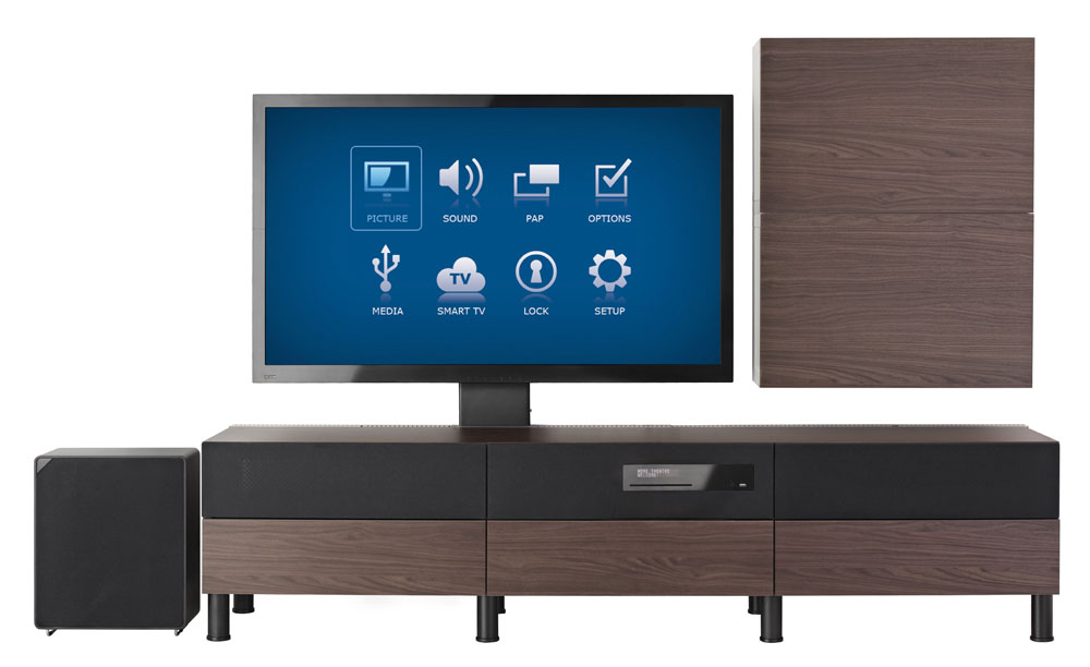 tv and furniture all in one by ikea realitypod. Black Bedroom Furniture Sets. Home Design Ideas