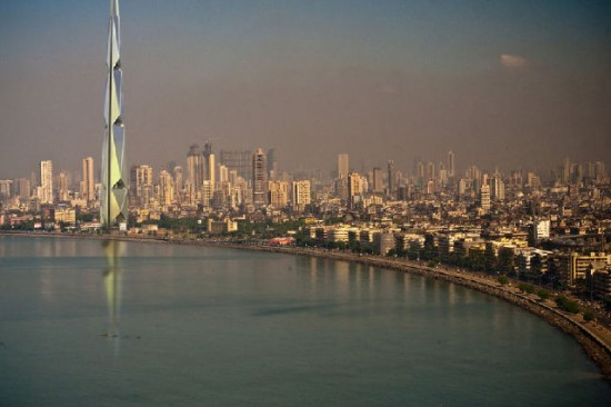 indiatower 550x366 India Tower Would Be The Worlds 2nd Tallest Building