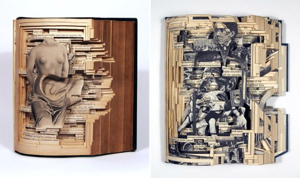 00012047 Book Sculptures That Will Amaze You